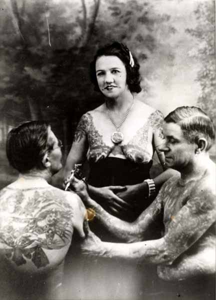 A Touch Of Tattoo History On Charlie Wagner From Bikernet