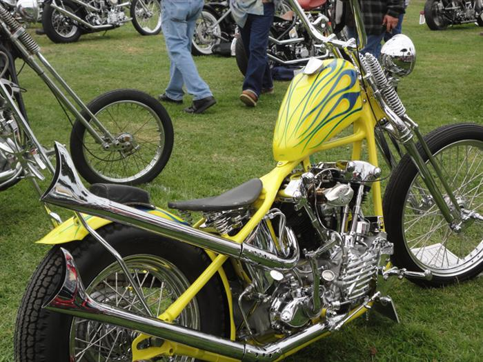 Nobody builds a classic chopper as tight as Paul Wheeler.