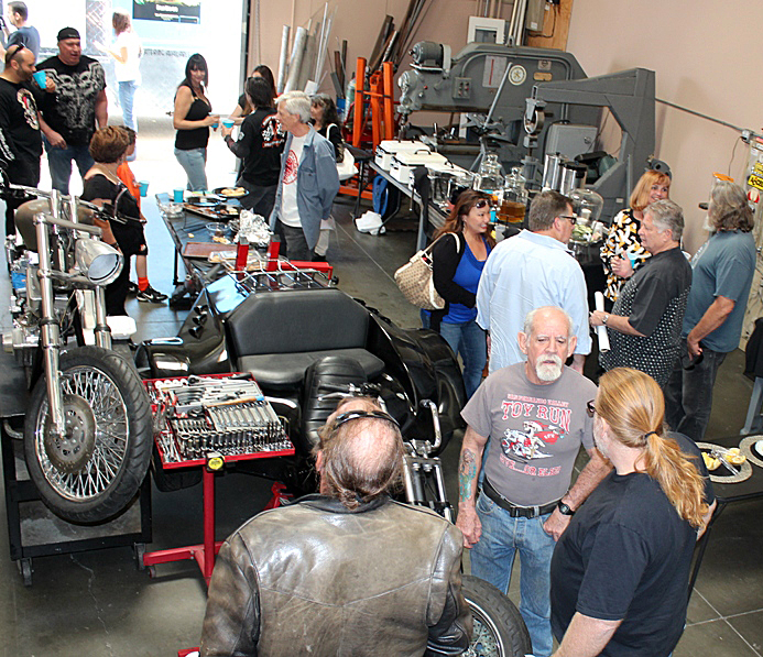 Illusion Cycles Team 25 Speedway Season Opener Party On