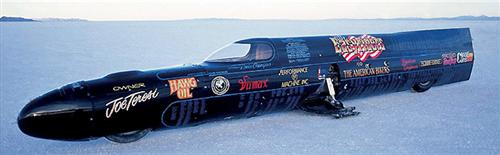 The Easyriders streamliner.