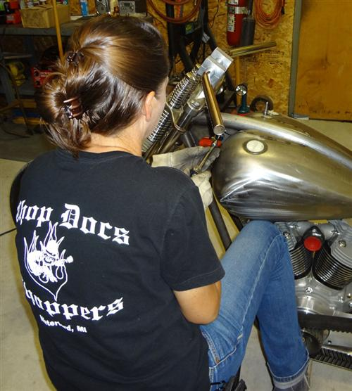 Biker Pros produces the XPress Lid & Spectro Oil Giveaway CHopper
