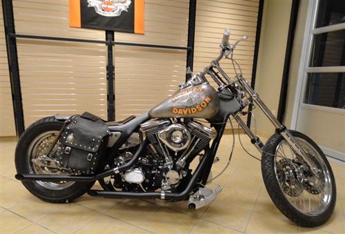 Harley Davidson Movie: Harley-Davidson And The Marlboro Man Bike At Loess H-D On