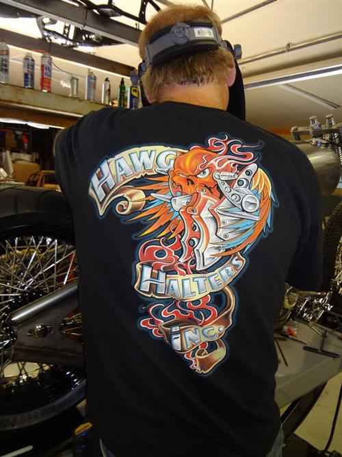 Biker Pros produced the building of the XPress Lid & Spectro Oil Giveaway Chopper