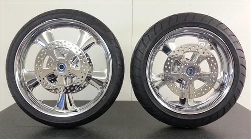 Metal sport has a deal rolling on complete wheel sets, with tires mounted. Give Russell a call.