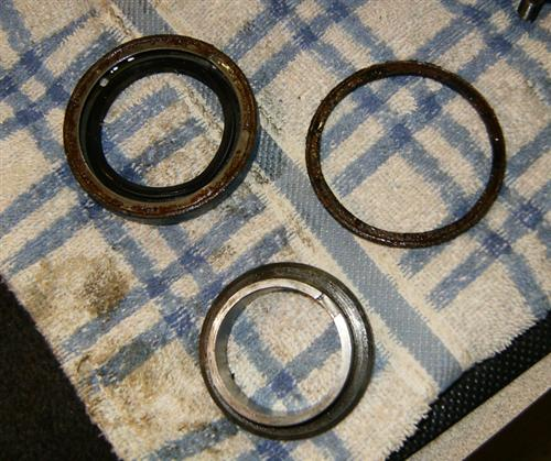 Main Shaft seal and spacer.