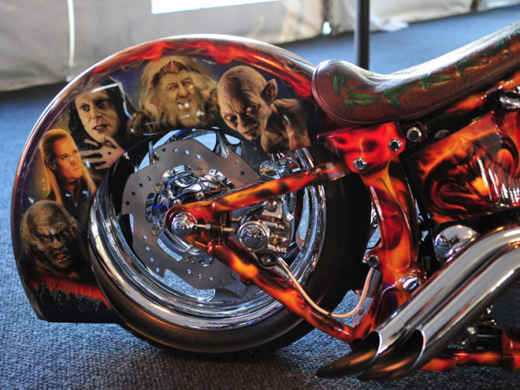 Wild Motorcycle Paint Jobs