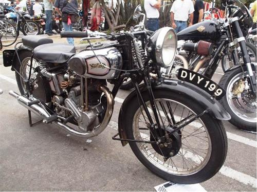 Still Snortin' - 1935 Norton Model 50 single