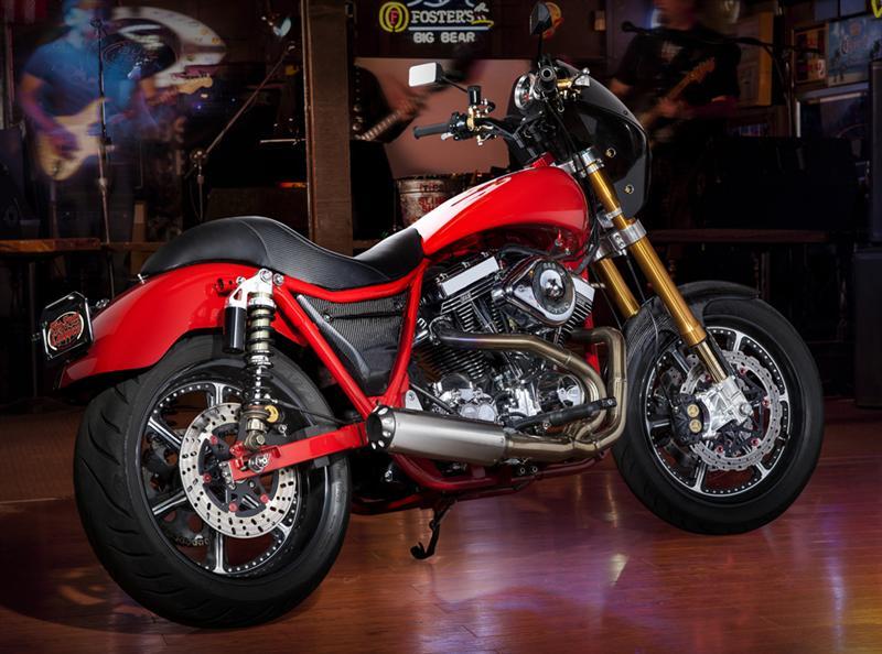 Harley Davidson Fxr >> Big Bear Choppers TITANIUM FXR