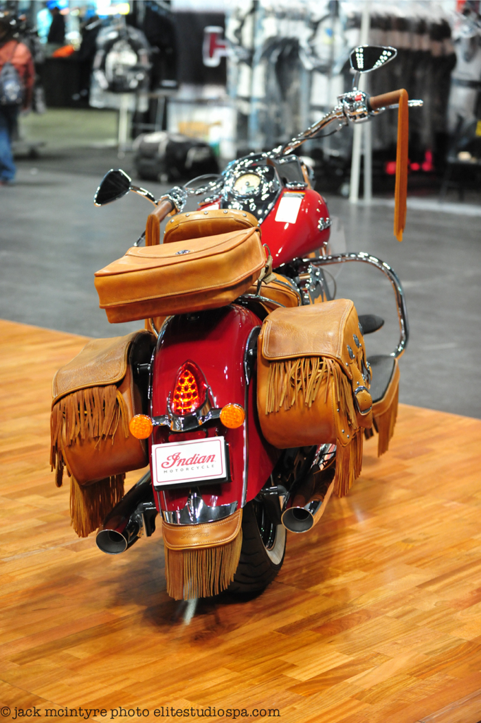 indian motorcycle accessory accessories leather custom extravaganza chief windshield bikernet