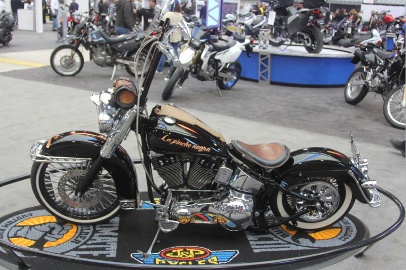 Canadian Biker Build-Off Custom Chopper and Motorcycle