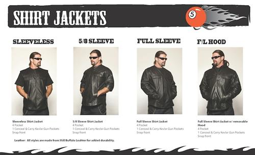 CLICK IMAGE to Check out 5-Ball Leathers