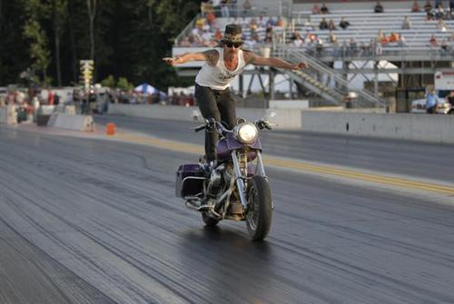 Drag strip surfing