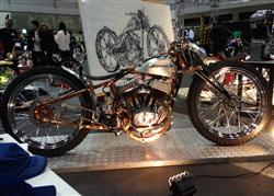 This bike was made from Custom Works Zon.