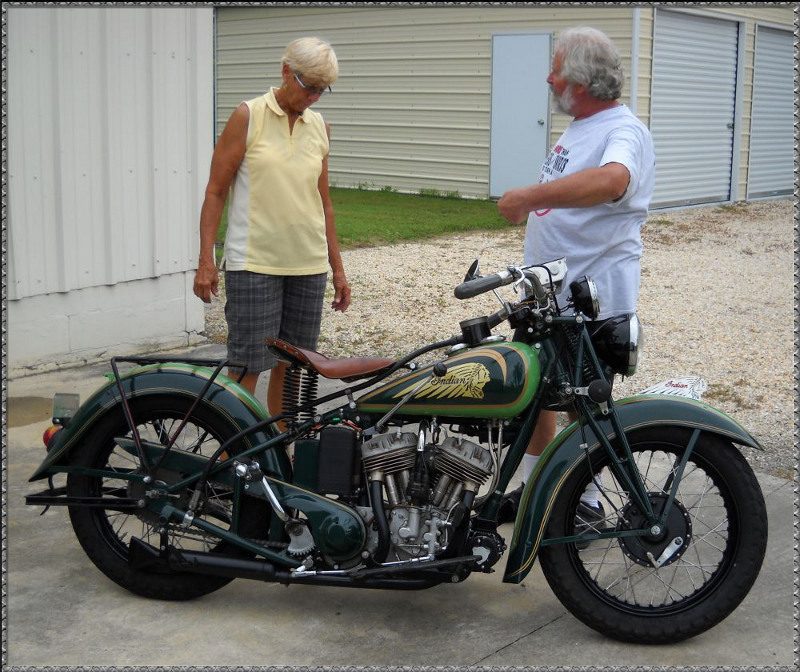 Builder Dennis Craig Briefs Cannonball Rider Dottie Mattern On The Idiosyncrasies Of Her Rebuilt 1936 Indian Scout