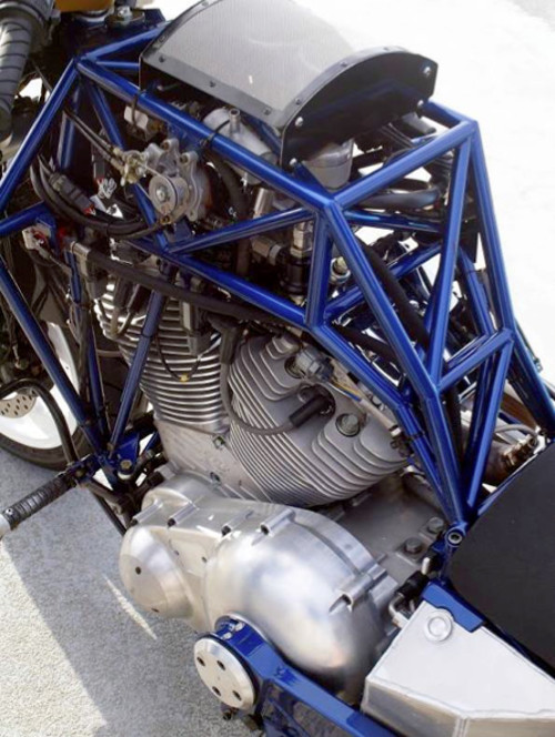 "The Alligator got more teeth, and 1820cc S&S V-twin motor, and now called the ""Instigator"" and may rise again."