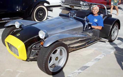 "Bruce Hand rumbled in with his 1964 Lotus Super 7 ""kit car"" about the closest thing to bike on four wheels."