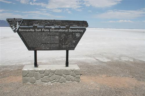 Welcome to Bonneville Salt Flats