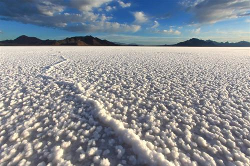 View of Salt Flats