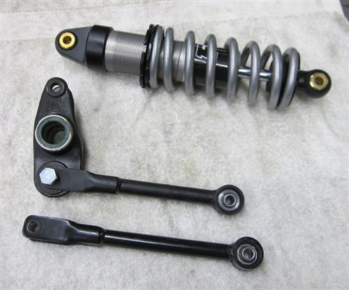 This shows a stock length rod compared to the modified rod.