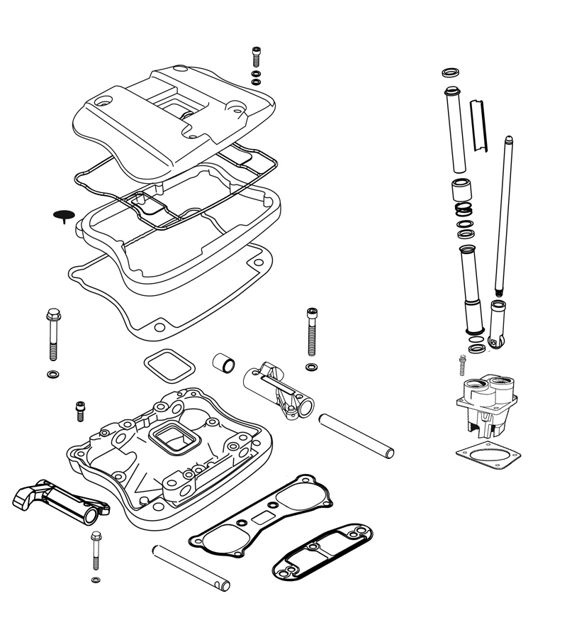 harley evo engine torque specs - impremedia.net rocker box harley davidson evo engine diagram