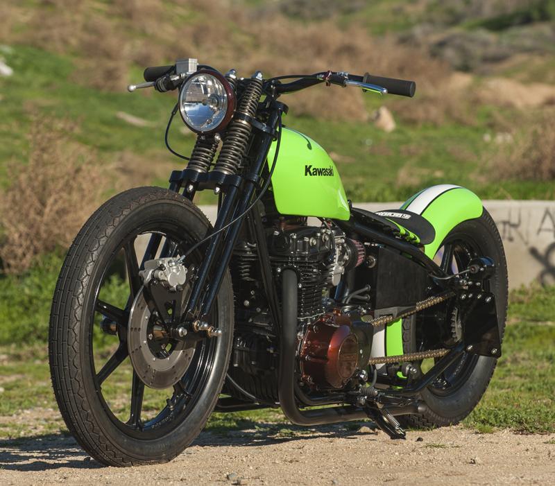 K&N\'s Todd White Built a 1981 Kawasaki KZ440