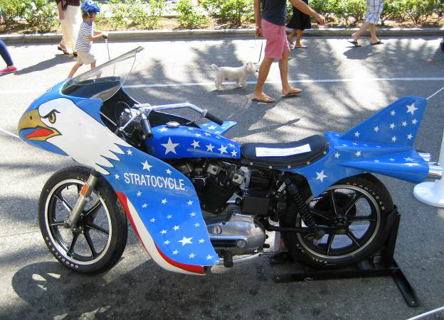1973 Harley Davidson Xr 750 Motorcycle Cool Daredevil: Evel Knievel Blasts Off On The Big Screen