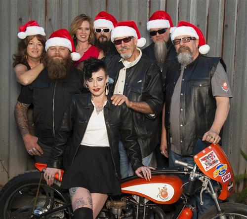 Holiday wishes from the Bikernet and 5-Ball Crew.