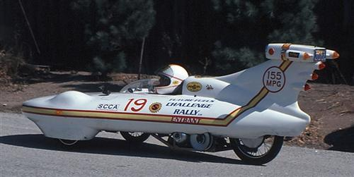 Could it be the first streamlined trike?