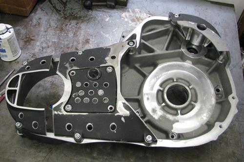 Heavily modified stock primary for Rivera-Primo clutch.