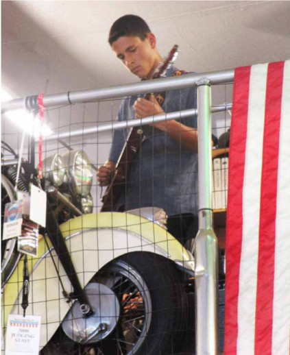 Patriotic echoes of 1969 filled the Intergalactic Headquarters with a Hendrix-style Anthem performed by Ryan Corman.