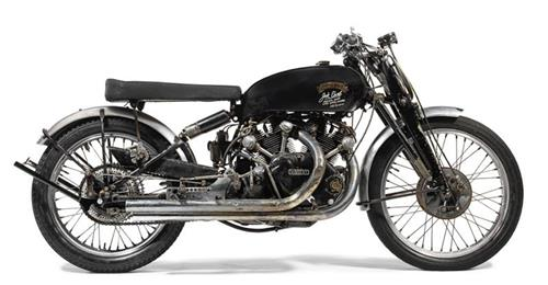 Vincent Black Lightning 1951The Peter and Frances Bender Collection© Bonhams Auctioneers
