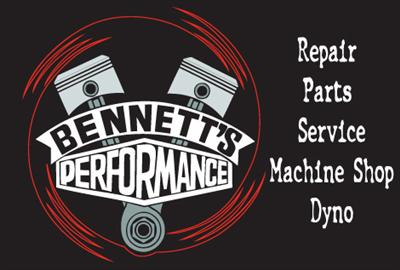 Click on the image for Bennett's Performance Info.
