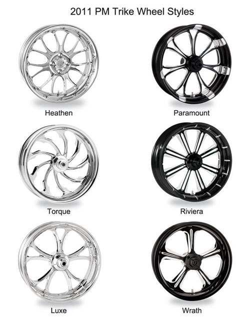 Performance machine introduces trike wheel designs for 2011 malvernweather Gallery