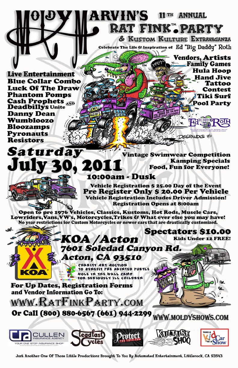 11th Annual Rat Fink Party and