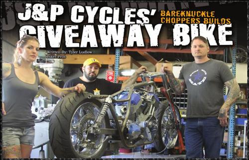 J&P Cycles Giveaway Bike - 2014