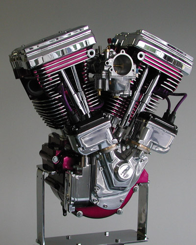 Harley Turbo Shovelhead: Accurate Engineering Builds Build-Off Engines