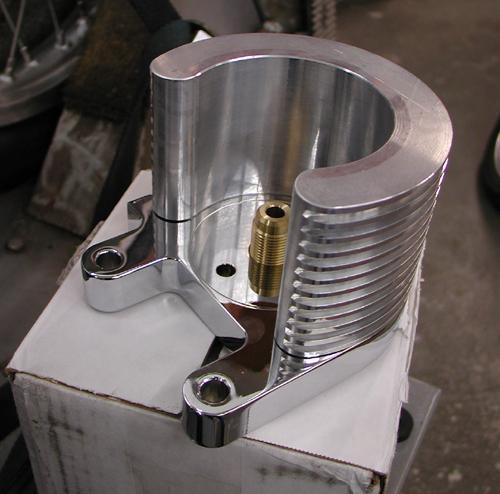 12 oil filter mount on box