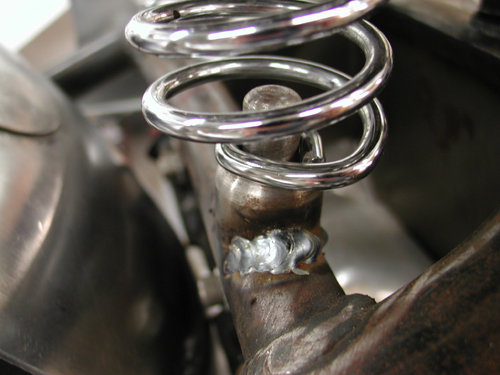 29 seat bung welded