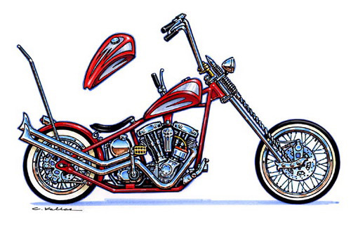 Street Bike Drawings This Concept Drawing Was