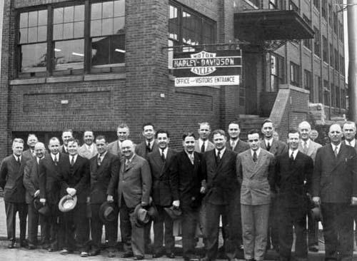 H-D factory staff
