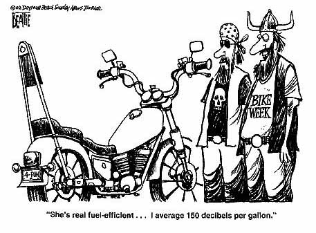 january 16 2003 part 3 1954 Harley Panhead biker cartoon