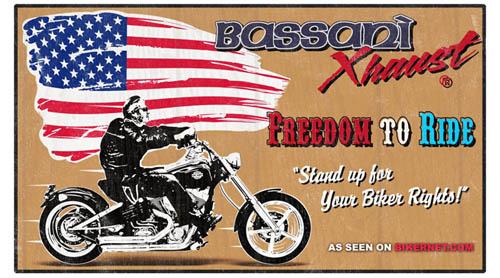 BASSANI FREEDOM BANNER
