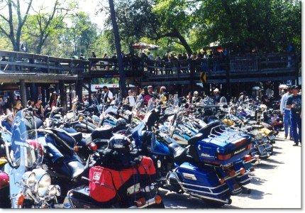 Daytona Bike Week 2001 Bikers Choppers Motorcycle Magazine
