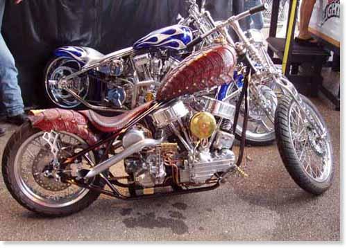 2005 american performance hustler chopper